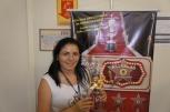 Gerlania Maria (recuperadora premiada equipe Cifra Financeira - Fábrica I)