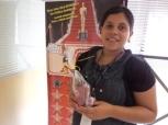 Francielli Cordeiro (premiada filial Curitiba)