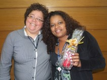 Marcia França (coordenadora filial São Paulo 1) e Rita de Cássia Guimarães (recuperadora premiada filial São Paulo 1)