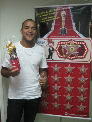 Moisés Francino de Santana (recuperador premiado filial Vitória)