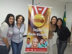Daniela Neves, Tatiane Oliveira (coordenadora RH - DO), Patrícia Finoti (supervisora RH - DO) e Vanessa Soares