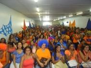 """Lançamento da campanha """"Negociadores FC"""" em Salvador."""