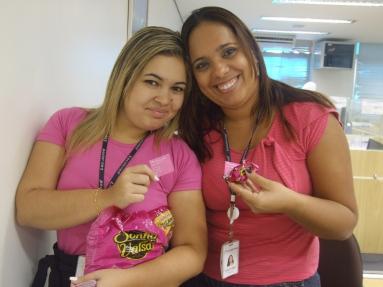 Danielle Vieira (Marketing) e Lenice Tôrres (Planejamento Matriz)