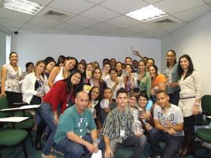 Turma de participantes do programa na Fábrica II - Turno Manhã