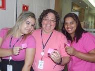 Danielle Vieira (Marketing), Marcia França e Ana Silva (coordenadoras filial São Paulo 1)