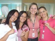 Andrea Momma (gerente operacional filial São Paulo 4), Karina Mata, Flavia Fontes e Gislaine Espósito (coordenadoras filial São Paulo 4)