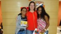 Marrubia e Ana Paula (recuperadoras contempladas filial Salvador) e Marcia Cristina (Analista de Treinamento - ao centro)