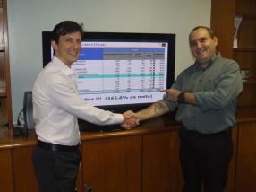 Marcio Manincor (Superintendente de Novos Negócios e Crédito Imobiliário) e Luis Alberto Zacchi (Gestor Itaú)