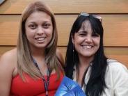 Sheila Mendes (recuperadora contemplada equipe São Paulo 6) e Marta Rodrigues (coordenadora São Paulo 6)