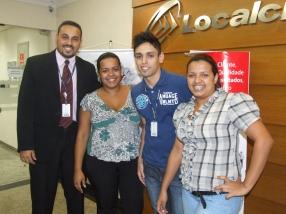 Equipe SPA7 participante do projeto e Thiago Henrique (Analista de Treinamento)