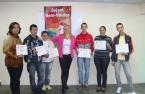 Priscilla Abreu (Analista de Treinamento e Desenvolvimento) e participantes dos dias 23 e 24/04