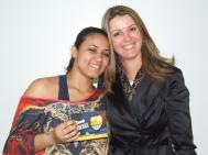Stephanie (craque turno manhã) e Gisele Custódio (Gerente Operacional Sênior)