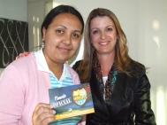 Ana Paula (craque turno tarde) e Gisele Custódio (Gerente Operacional Sênior)