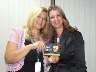 Claudia (craque turno tarde) e Gisele Custódio (Gerente Operacional Sênior)