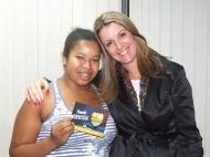 Erica (craque turno tarde) e Gisele Custódio (Gerente Operacional Sênior)