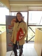 Andreia Miskalo (recuperadora contemplada filial Curitiba)