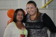 Ana Lucia (recuperadora premiada) e Paula (coordenadora)