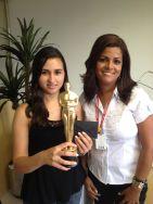 Cinthia Patricia (estrela da filial Curitiba) e Alexandra Rodrigues (coordenadora Curitiba)